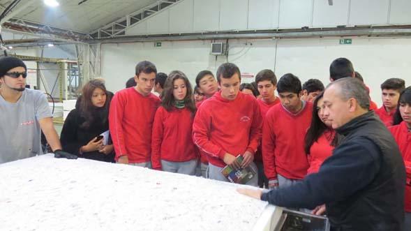 En visita a empresa de colchones rosen for Colchones rosen